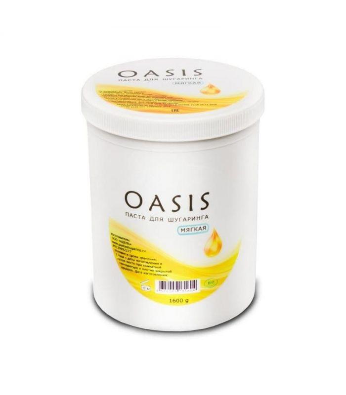 Сахарная паста OASIS мягкой плотности для шугаринга 1.600 гр в SugarDream.ru