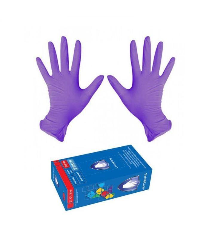 Нитриловые перчатки 100 пар