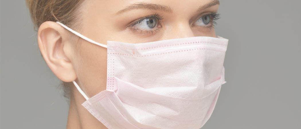 Цветные медицинские маски
